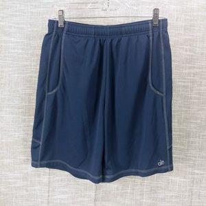 alo Yoga Athletic Recovery Shorts Medium Blue